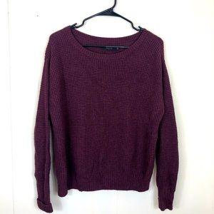 Aritzia's Talula Purple Knit Sweater Sz XS